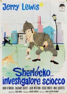 It's Only Money 1962 Original Italy Due Fogli Movie Poster Frank Tashlin Jerry Lewis Jerry Lewis, Joan O'Brien, Zachary Scott, Jack Weston Entertainment Collectibles