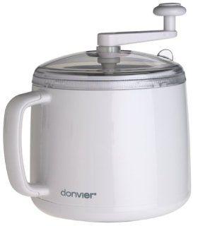 Donvier 837409W 1 Quart Ice Cream Maker Ice Cream Scoops Kitchen & Dining
