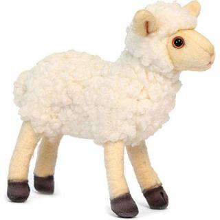 HANSA   Beige little lamb plush toy