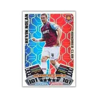 Match Attax Championship 2011/2012 Kevin Nolan 11/12 Hundred 100 Club [Toy]: Toys & Games