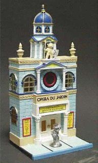Department 56 City Lights Monopoly Opera Du Jardin, Two Eighty Marvin Gardens, 13605, D56   Collectible Buildings