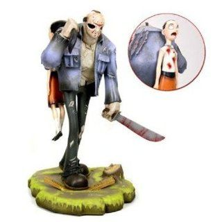 Gentle Giant Friday the 13th Animaquette Statue Jason Voorhees: Toys & Games