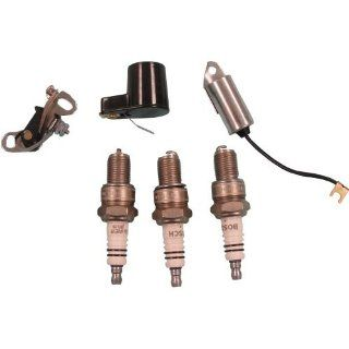 Ign Kit (Inc. Points Cond Rotor Plug) For Ford Tractor Many Models   309788  Patio, Lawn & Garden