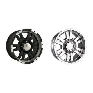 ION Alloy Wheels Style 182 Matte Black Or Chrome Wheels
