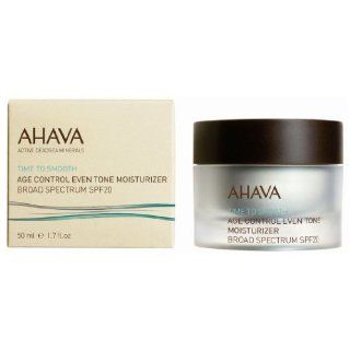 AHAVA Age Control Even Tone Broad Spectrum Moisturiser SPF20 : Skin Care Product : Beauty