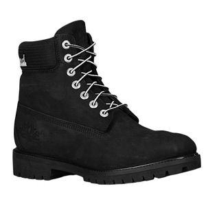 Timberland 6 Scripted Logo Boot   Mens   Casual   Shoes   Black Nubuck