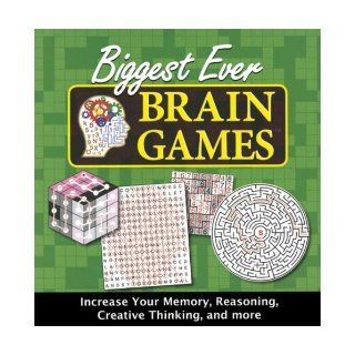 Biggest Ever Brain Games: 9781412745291: Books
