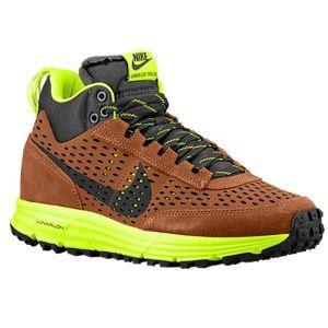 Nike Lunar LDV Trail Mid   Mens   Casual   Shoes   Ale Brown/Beach/Volt/Black