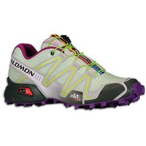 Salomon Speedcross 3   Womens   Running   Shoes   Green Tea/Chalk Grey/Pop Green