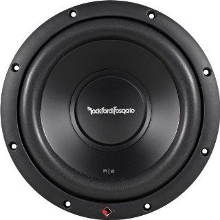 Rockford Fosgate R2D4 12 Prime R2 DVC 4 Ohm 12 Inch 250 Watts RMS 500 Watts Peak Subwoofer  Vehicle Subwoofers
