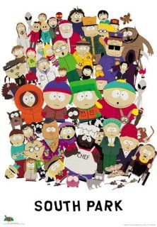 South Park   TV Show Poster All Characters (Size 27'' x 40'') (Poster & Poster Strip Set)   Prints