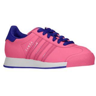 adidas Originals Samoa   Girls Grade School   Training   Shoes   Ray Pink/Ray Pink/Blast Purple