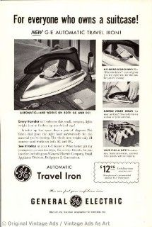 """1953 General Electric """"For everyone who owns a suitcase"""" Vintage Ad   Prints"""