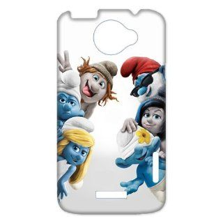 Back in the 27 years ago The Smurfs Unique HTC One X + Durabel Hard Plastic Case for you Custom Perfect Design: Cell Phones & Accessories