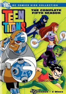 Teen Titans   Season Five TV Poster