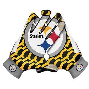 Nike NFL KO Thermal Gloves   Mens   Football   Accessories   Pittsburgh Steelers   Multi