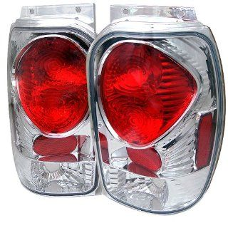 Spyder Ford Explorer 98 01 (Except 2001 Sport & Sport Trac) / Mercury Mountaineer 97 01 Altezza Tail Lights   Chrome Automotive