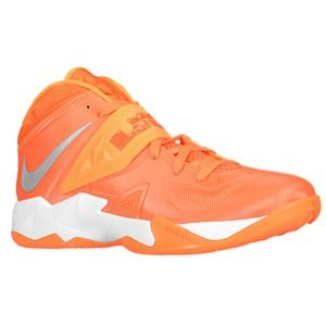 Nike Zoom Soldier VII   Mens   Basketball   Shoes   Turbo Green/Atomic Mango/Night Shade/Silver