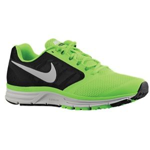 Nike Zoom Vomero+ 8   Mens   Running   Shoes   Black/Volt/Reflective Silver