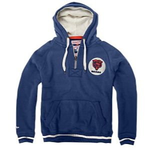 Mitchell & Ness NFL Field Goal Hoodie   Mens   Football   Clothing   Chicago Bears   Navy