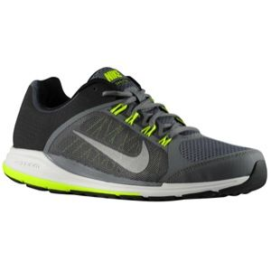 Nike Zoom Elite+ 6   Mens   Running   Shoes   Black/Dark Grey/Volt/Reflect Silver