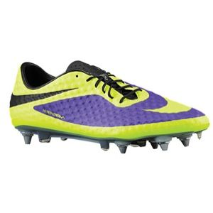 Nike Hypervenom ACC Phantom SG Pro   Mens   Soccer   Shoes   Electro Purple/Black/Volt