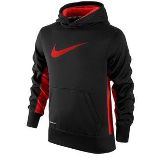 Nike KO 2.0 Hoodie   Boys Grade School   Training   Clothing   Black/Gym Red