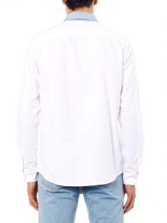 Contrast collar cotton shirt  A.P.C.