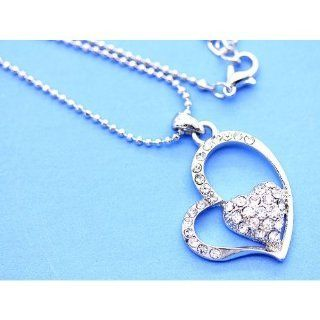 Metal Casting Heart Necklace
