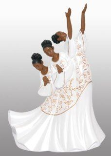 African American Praise Dancer Figurine: Giving Praise   Collectible Figurines