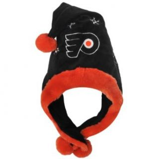 NHL Philadelphia Flyers Thematic Santa Hat : Sports Fan Beanies : Clothing