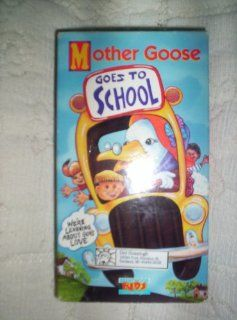 Mother Goose Goes to School [VHS] Brentwood Kids Movies & TV