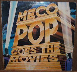 Meco   Pop Goes the Movies LP   James Bond, The Godfather, and more Music