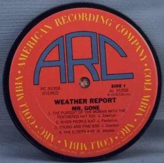 Weather Report   Mr. Gone (Coaster)