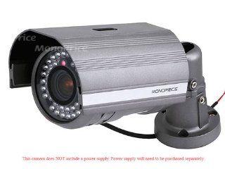 Super Hi Res 600TVL DNR, 42 LEDs, 1/3 inch Sony Super HAD CCD, True Day & Night 2.8~11mm (3.5 9.5mm) Vari Focal ICR Lens, IR Bullet Camera w/ Zoom & Focus External Adjustment (MDP LE750XI 42) : Camera & Photo