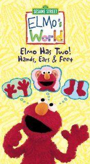 Elmo's World   Elmo Has Two! Hands, Ears & Feet [VHS]: Melissa Altro, Jodie Resther, Daniel Brochu, Bruce Dinsmore, Arthur Holden, Sonja Ball, J.T. Turner, Tamar Kozlov, Joanna Noyes, A.J. Henderson, Patricia Rodriguez, Michael Yarmush: Movies &amp