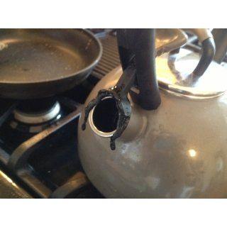KitchenAid Teakettle 2 1/4 Quart Porcelain Enamel on Steel Soft Grip Kettle Kitchen & Dining