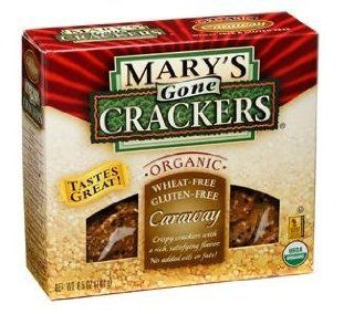 Caraway Wheat Free Mary's Gone Crackers Organic Herb Seed Cracker 6.5 OZ Box (Pack of 3): Health & Personal Care