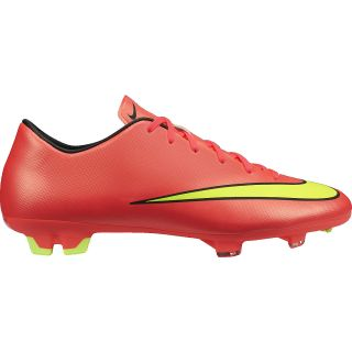 NIKE Mens Mercurial Victory V FG Low Soccer Cleats   Size 8.5, Hyper Punch