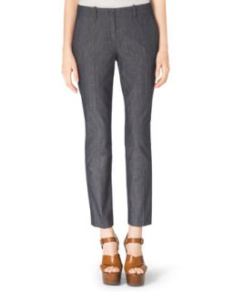 Womens Samantha Skinny Denim Pants   Michael Kors   Indigo (10)