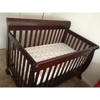 Moonlight Slumber Little Dreamer Dual Firmness All Foam Crib Mattress  Organic Crib Mattress  Baby