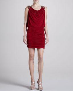 Womens Embellished Shoulder Dress, Vixen   Laundry by Shelli Segal   Vixen (2)