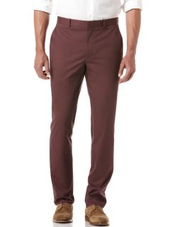 Perry Ellis Mens Slim Fit Travel Luxe Chino