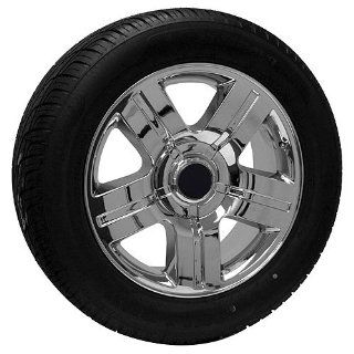 20 inch chrome Chevy truck wheels rims tires fits Silverado Suburban: Automotive