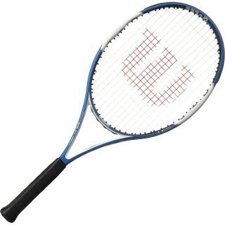 WILSON nFury Hybrid Tennis Racquet   Size: 4 1/2 Inch (4)110 Head S, Blue