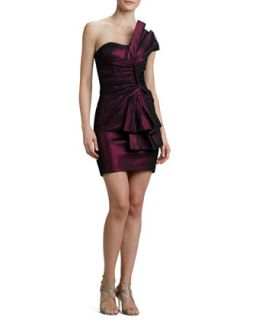 Womens Strapless Folded Bow Cocktail Dress   Erin by Erin Fetherston   Wild