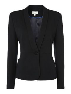 Linea Textured jacket Navy