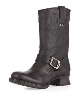 Martina Engineer Short Boot, Black   Frye   Black (35.5B/5.5B)