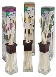 Greenair All Natural  Reed Diffuser Set of 3, Sweet Pea, Vanilla and Jasmine, 6.6 Ounce Health & Personal Care