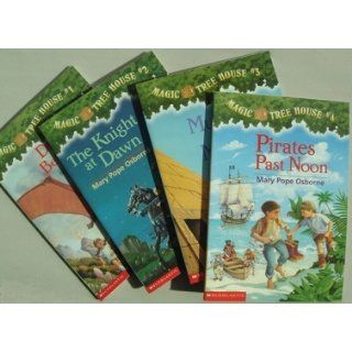 Magic Tree House Boxed Set, Books 1 8: Mary Pope Osborne, Sal Murdocca: 9780439055260: Books
